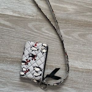 Vera Bradley card holder & lanyard